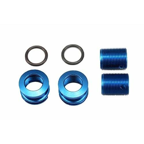BD5/BD7/BD8/BD10 finoman állítható alumínium kaszni tartó (kék)