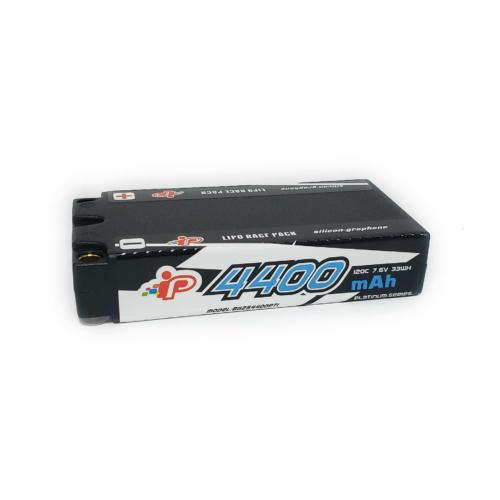 Intellect Graphene 2020 LCG Shorty 4400mAh 7.6V 2S 120C HV LiPo (5mm, 165g)