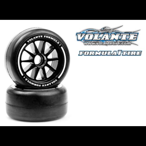 Volante felnire ragasztott F1 első kerék - közepes összetétel (2db)